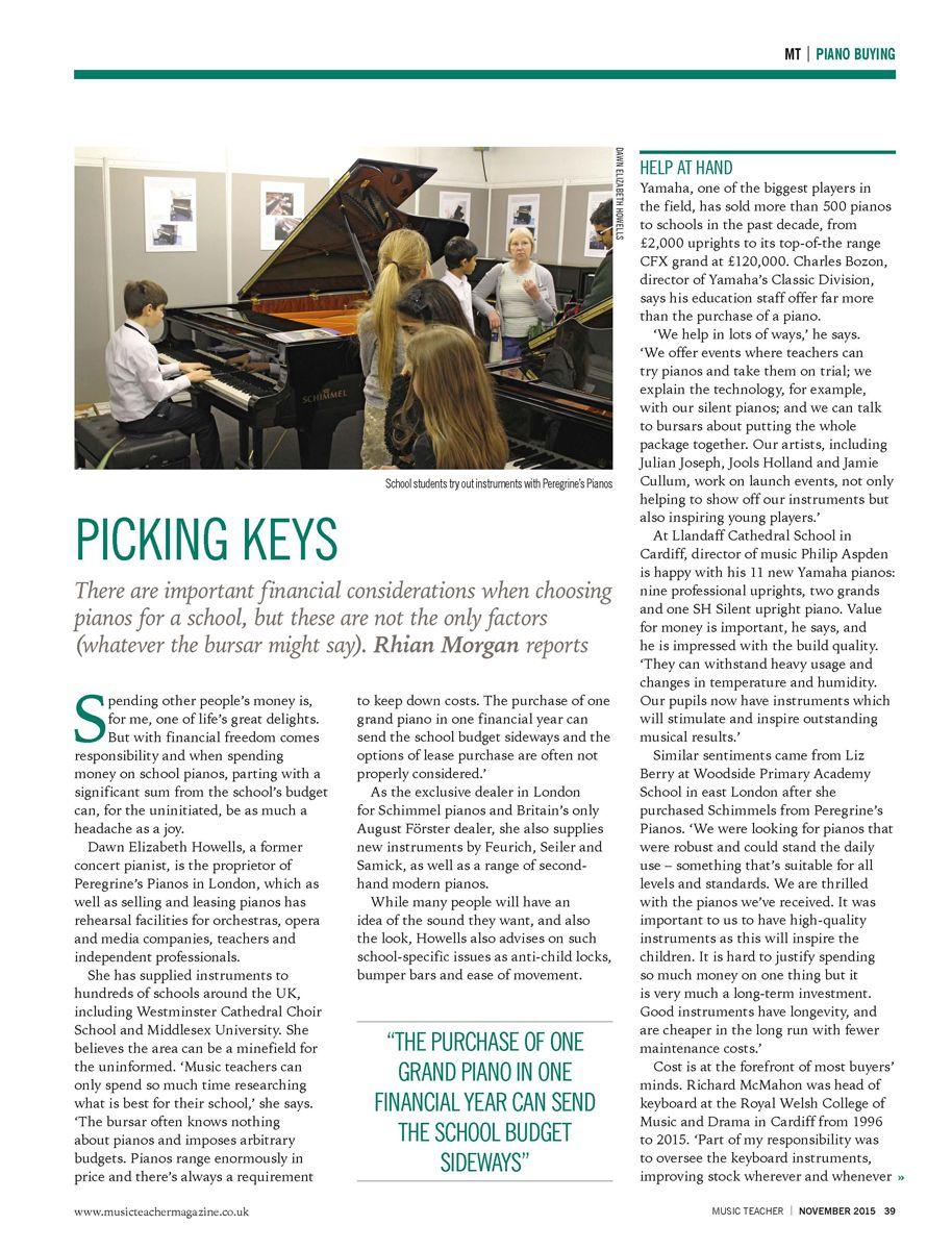 Picking Keys p1