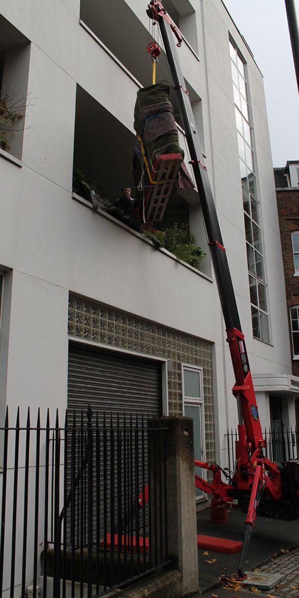 Crane delivery 3