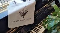 Peregrine's Pianos tote bag