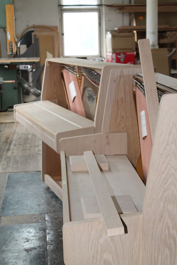 upright piano production