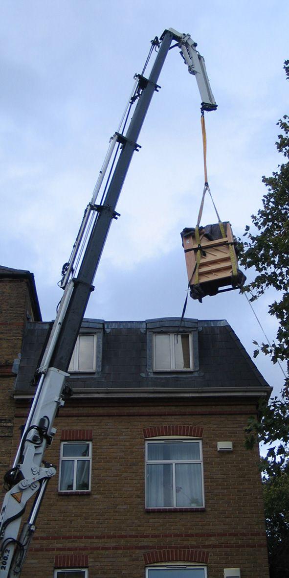 Crane delivery 1