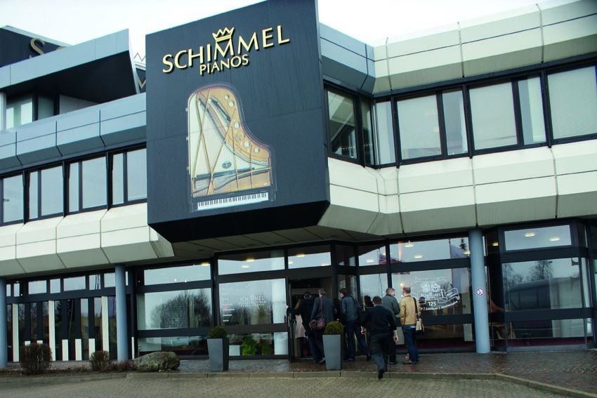 Visit to the Schimmel Piano Factory 2012