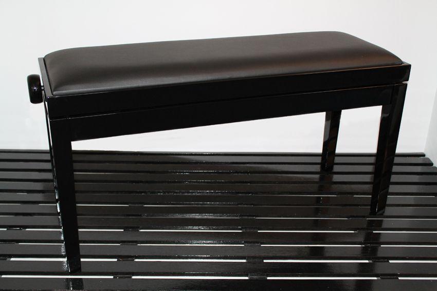 Geneva - black leather top