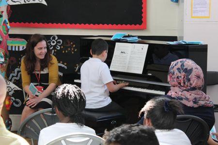 School piano