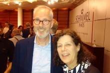Lothar Kiesche with Dawn Elizabeth Howells