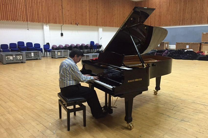 Scottish Opera August Förster piano